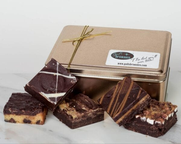 selection of brownies